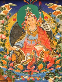 Guru-Rinpoche. Nangsi Zilnön (Wyl. snang srid zil gnon)