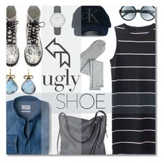 """""""Ugly Shoe"""" by anilovic ❤ liked on Polyvore featuring Ina Kent, MANGO, H&M, Calvin Klein Jeans, Judy Geib, CLUSE, Tom Ford, Charlotte Russe and uglyshoes"""