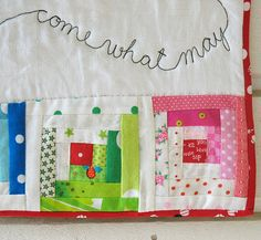 come what may - detail by syko Kajsa, via Flickr