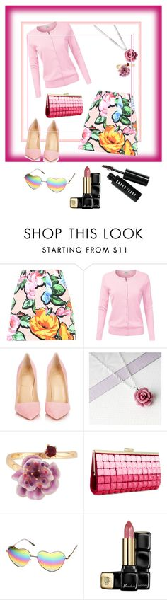 """Untitled #171"" by stina715 on Polyvore featuring Love Moschino, Christian Louboutin, Les Néréides, INC International Concepts, Guerlain and Bobbi Brown Cosmetics"