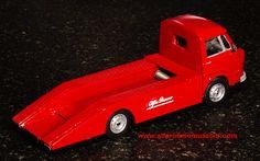 Caravane Voiture Modèle 1:43 Taille REMORQUE CAMPING CAR MOTOR HOME Crème remorque 60/'S//70/'S T3