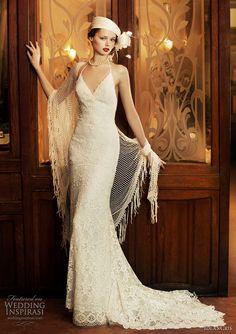 Milan wedding dress YolanCris 2011 Revival Vintage bridal collection