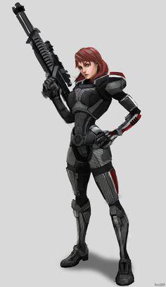 Want N7 armor so hard!