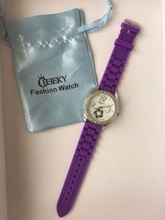 d34123d54474 Cheeky wristwatches HE017 Purple new fashion summer watches girls women s   Cheeky Wristwatches