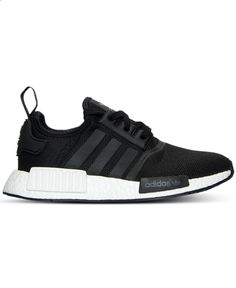 Big Boys Adidas NMD R1 S80206 Black Available Now for Retail