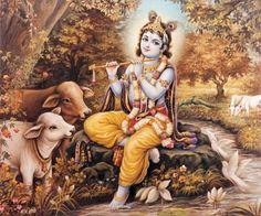 Lord Krishna with Flute Krishna Flute, Krishna Radha, Shri Ganesh, Radha Rani, Lord Krishna Images, Krishna Photos, Hindu Deities, Hinduism, Hare Krishna Temple