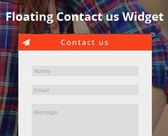 How to Add a Floating Contact Us Widget in Blogger