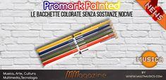 Promark Painted - le bacchette colorate senza sostanze nocive - PROMARK noto produttore di bacchette per batteria, ha realizzato una nuova serie di bacchette tutte colorate e un po' speciali!