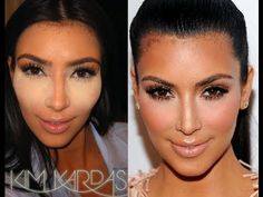 Easy Kim Kardashian Highlight And Contour Tutorial !! (Feat. BH COSMETiCS)