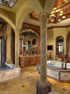 Come get inspired with these amazing luxurious bathroom designs at http://www.maisonvalentina.net/