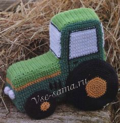 Tractor knitted