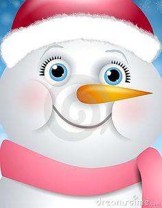 snowman face template | Snowman+cartoon+face