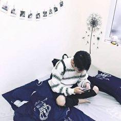 Korean Boys Ulzzang, Ulzzang Couple, Ulzzang Boy, Korean Girl, Asian Boys, Asian Men, Boy Fashion, Korean Fashion, Yoon Park