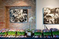 1000 Paper Cranes, Paper Source, Wedding Story, Real Weddings, Bride, Create, Blog, Painting, Art