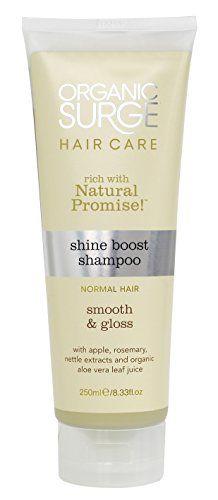 Organic Surge Shine Boost Shampoo 250ml ** Want additional info? Click on the image.