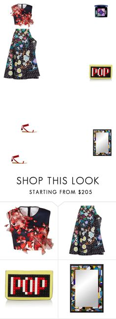 """""""Grace"""" by zoechengrace ❤ liked on Polyvore featuring Clover Canyon, Peter Pilotto, Les Petits Joueurs, NOVICA and Christian Dior"""
