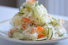 Potato Salad, Zucchini, Cabbage, Potatoes, Vegetables, Ethnic Recipes, Food, Garden, Salads