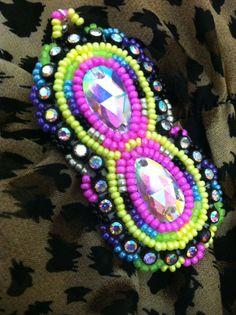Native American Beaded Earrings by WawokinyanWin on Etsy, $30.00