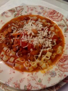 Sweet Tea and Cornbread: Pasta Fagioli...a delicious Italian soup just like Olive Garden!