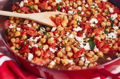 Recipe: Feta and Tomato Braised Chickpeas — Recipes from The Kitchn