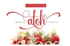 Beauty Atok Script Family (update) by Rabbittype on @creativemarket