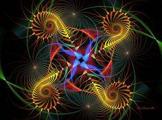 Sacred Geometry Fractal | fractal geometry by rozrr digital art fractal art raw fractals 2010 ...