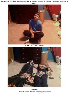Literally story of my life... I even have the same t shirt and life size cardboard cutout!