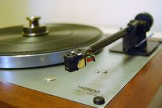 Modded Thorens TD-165 with Rega RB250 tonearm and Grado Gold cartridge