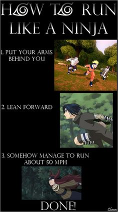 How To Run Like A Ninja