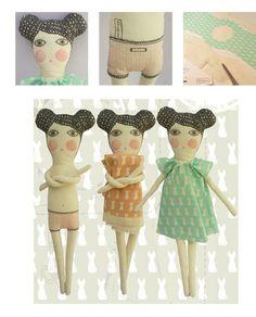 From Argentina with love / Severina Kids dolls http://knuffelsalacarteblog.blogspot.nl/