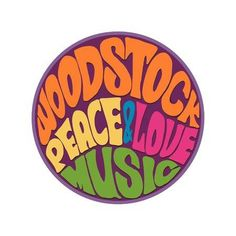 Hippie style Love and Music Retro 1960s 60s 70s Woodstock Music and Art Fair of rock festivals Woodstock became a symbol of the end of the hippie era and the beginning of the sexual revolution
