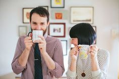 Wedding Philippines - Coffee Shop Cafe Engagement Photo Shoot Session Inspiration (17)