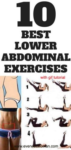 The Best Exercises for Your Lower Abs With GIF Tutorial – Ever Well Women