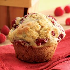 Healthy Weight Loss Recipes - Lemon-Raspberry Muffins