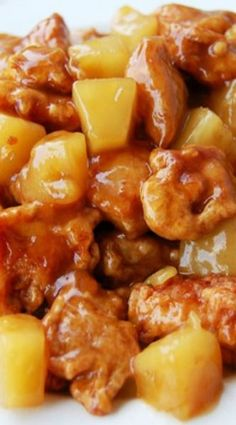Chinese Pineapple Chicken. | Posted By: DebbieNet.com |