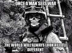 Don't underestimate an individual who is willing to die in combat.