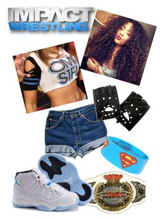 """""""TNA knockout outfit ♥♡"""" by queenofwrestling ❤ liked on Polyvore featuring TNA, tna, tnaknockout and tnawrestling"""