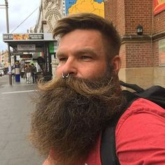 50 Manly Viking Beard Styles to Wear Nowadays - Men Hairstyles World Viking Beard Styles, Long Beard Styles, Hair And Beard Styles, Hair Styles, Great Beards, Awesome Beards, Epic Beard, Beard No Mustache, Make Up