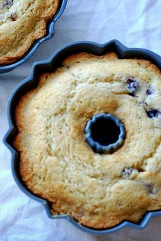 Lemon Blueberry Bundt Cake with Lemon Cream Cheese Icing - See Jane in the Kitchen