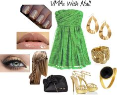 """VMAs With Niall"" by kaelahoran-d on Polyvore"