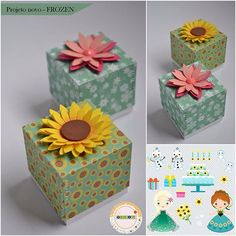 Festa Frozen Fever, Ana Frozen, Frozen Birthday Party, Baby Games, Decorative Boxes, Alice, Diy, Gift Wrapping, Instagram Posts