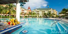 The Pools at Sandals Whitehouse