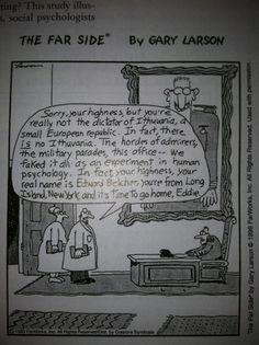 Social psychology's got jokes