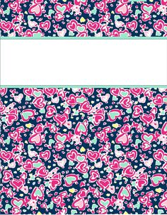 cute floral binder covers