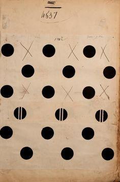 Circles & Dots | noir de mars