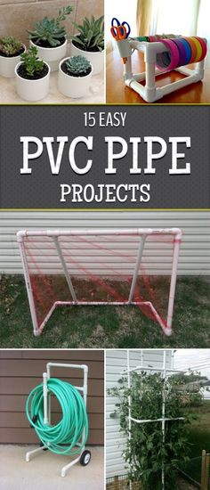 15 Easy PVC Pipe Projects Anyone Can Make