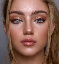 Felipe Meggio is a Fashion & Beauty Photographer. See their Photographer portfolio on Cherrydeck Makeup Eye Looks, Soft Makeup, Glowy Makeup, Natural Makeup Looks, Cute Makeup, Pretty Makeup, Simple Makeup, Peach Makeup Look, Natural Makeup For Blondes