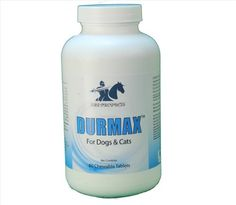 Dog Allergies - Durmax Healthy Skin and Coat Allergy Relief Pet Supplements for Dogs and cats Ideal for Dog Mange and Hot Spots on Pets. Natural Allergy Treatment for Skin Irritation for Dogs Dry Skin *** Click on the image for additional details.