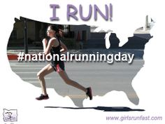 #nationalrunningday Get out and run! #girlsrunfast #coolrunningjewelry