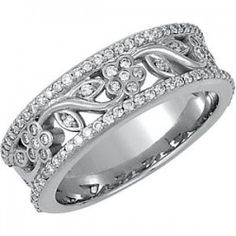 Anniversary Diamond Wedding Ring